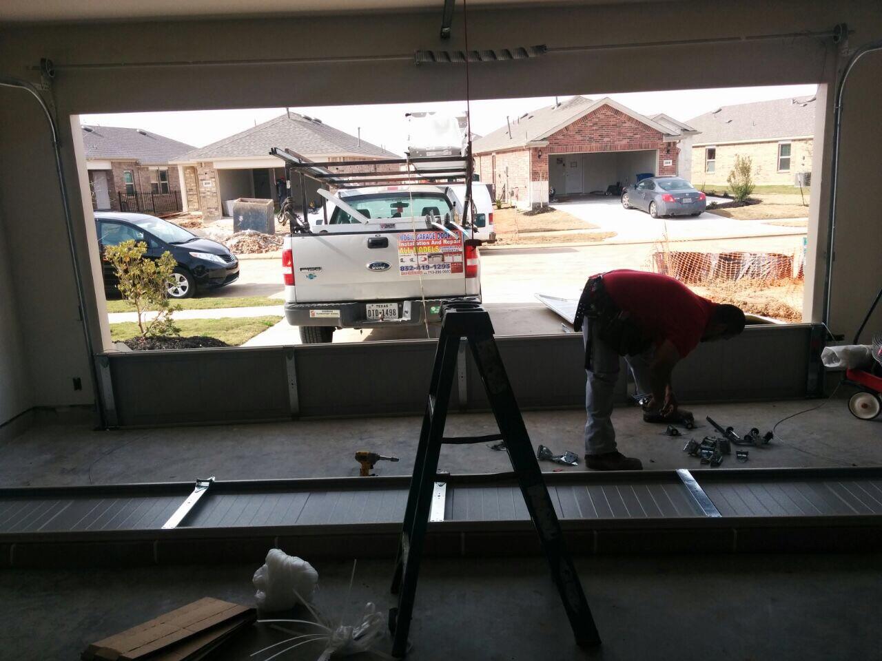 Door off track garage door repair montclair nj for Garage door repair in kissimmee fl